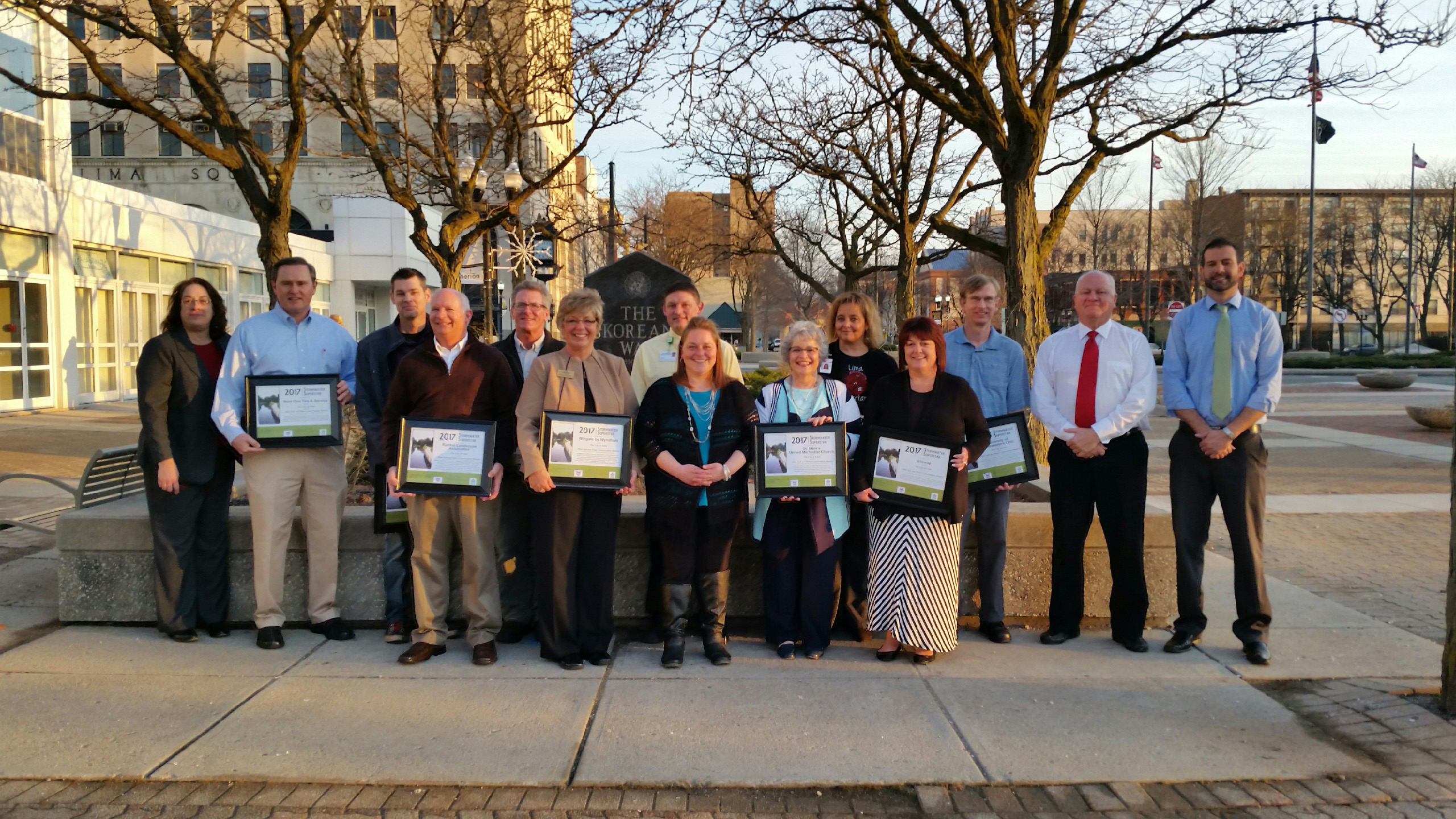 Stormwater Superstar Group Picture