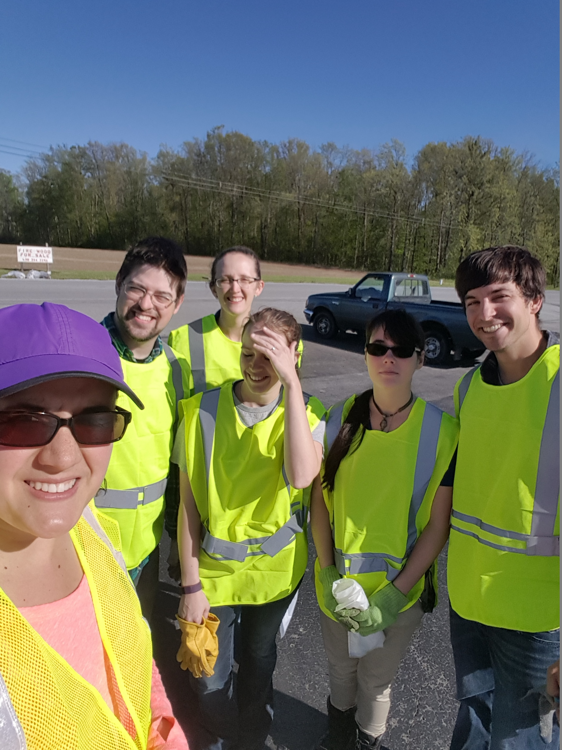 Adopt A Highway Clean Up Event
